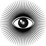 весь видеть глаза Стоковые Изображения RF