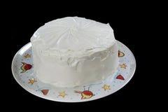 Весь красный торт бархата Стоковые Изображения RF