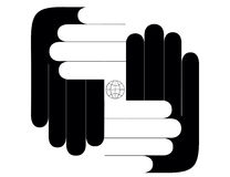весь мир рук ваш Стоковое Изображение RF