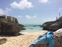 Весь пляж вещей стоковое изображение rf