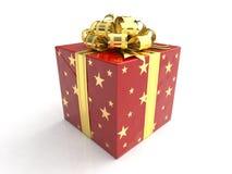 весь подарок торжеств коробки Стоковое фото RF