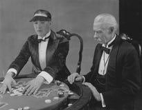 весь покер игры принимает победителя стоковые изображения