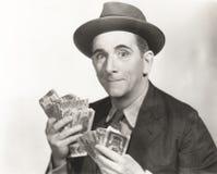 весь покер игры принимает победителя стоковое фото
