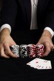 весь покер Стоковые Фотографии RF