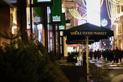 Весь рынок еды в Лондоне Стоковое Изображение RF