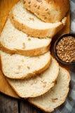 Весь хлеб овсяной каши меда солнцецвета пшеницы Стиль деревенский Стоковые Изображения