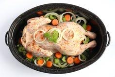 Весь цыпленок Стоковые Фотографии RF