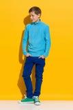 Весёлый мальчик Стоковые Фото