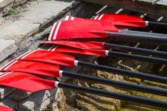 Весла rowing Стоковая Фотография