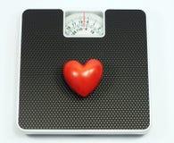 Вес влюбленности стоковые изображения rf