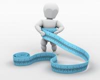 вес потери увеличения иллюстрация вектора