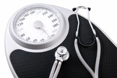 вес принципиальной схемы тела здоровый Стоковая Фотография RF