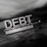 вес рынков задолженности передний идя бесплатная иллюстрация