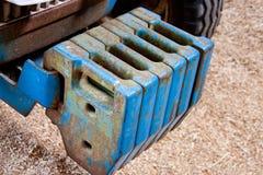 вес трактора баланса земледелия Стоковое фото RF