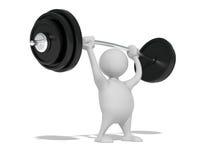 вес человека Стоковое Изображение