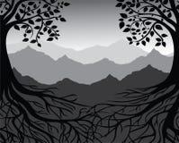 Ветви и корни бесплатная иллюстрация