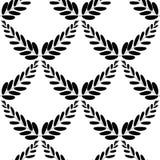 Ветви оливок, символа победы, иллюстрации вектора, плоско картина безшовная бесплатная иллюстрация
