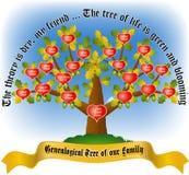 Ветви lst4 дуба tree-2 иллюстрация штока