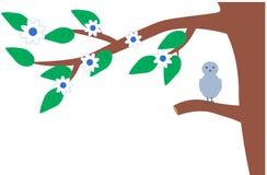 ветвь птицы Стоковые Изображения