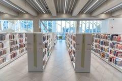 Ветвь публичной библиотеки Калгари центральная стоковое фото rf