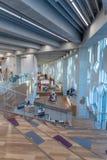Ветвь публичной библиотеки Калгари центральная стоковые фотографии rf