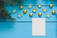 Ветвь рождественской елки с конусом стоковое изображение rf