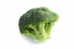 Ветвь свежей вкусной зеленой капусты брокколи Фото показывает br Стоковые Фотографии RF