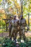 Ветераны Вьетнама мемориальные Стоковые Фото