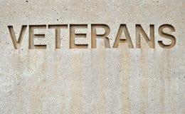 Ветераны знака Стоковые Изображения