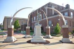 Ветераны мемориальное Jonesboro Craighead, Арканзас стоковая фотография rf