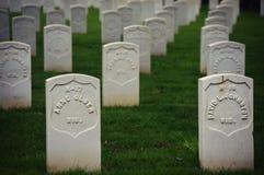ветеран кладбища s Стоковые Изображения RF