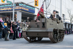 Ветеран танка Стоковая Фотография RF