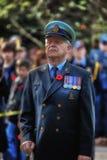Ветеран чанадеца день памяти погибших в первую и вторую мировые войны стоковые фото