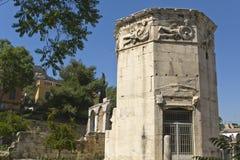 ветер башни Греции богов athens Стоковые Изображения RF