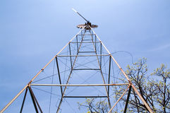 ветер башни насоса Стоковые Изображения RF