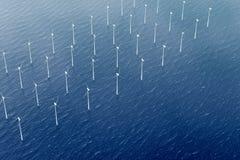 ветер воды турбины парка Стоковая Фотография