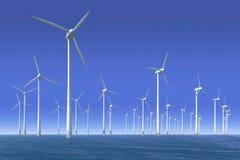 ветер воды турбины парка Стоковые Фотографии RF