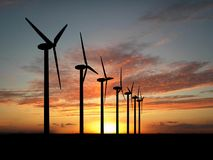 ветер генераторов Стоковое фото RF