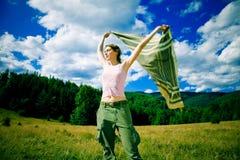 ветер горы Стоковые Изображения
