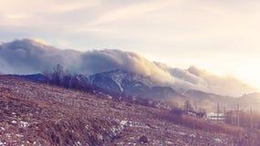 Ветер гор Стоковое фото RF