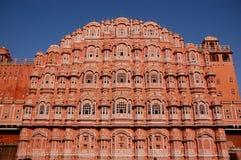 ветер дворца jaipur стоковое фото rf