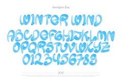Ветер зимы Стоковая Фотография RF