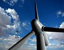 ветер источника питания Стоковое Изображение