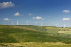 ветер источника фермы альтернативной энергии Стоковые Фото