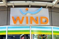 ветер логоса Стоковая Фотография RF
