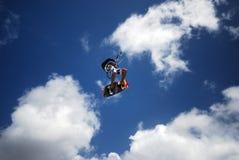 ветер Мадагаскара kiter Стоковые Изображения RF