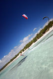 ветер Мадагаскара kiter Стоковая Фотография RF