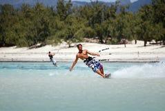 ветер Мадагаскара kiter Стоковое Изображение RF