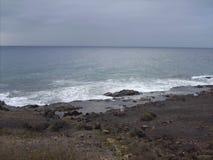 Ветер на белой воде Стоковые Изображения