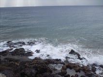 Ветер на белой воде Стоковые Фото